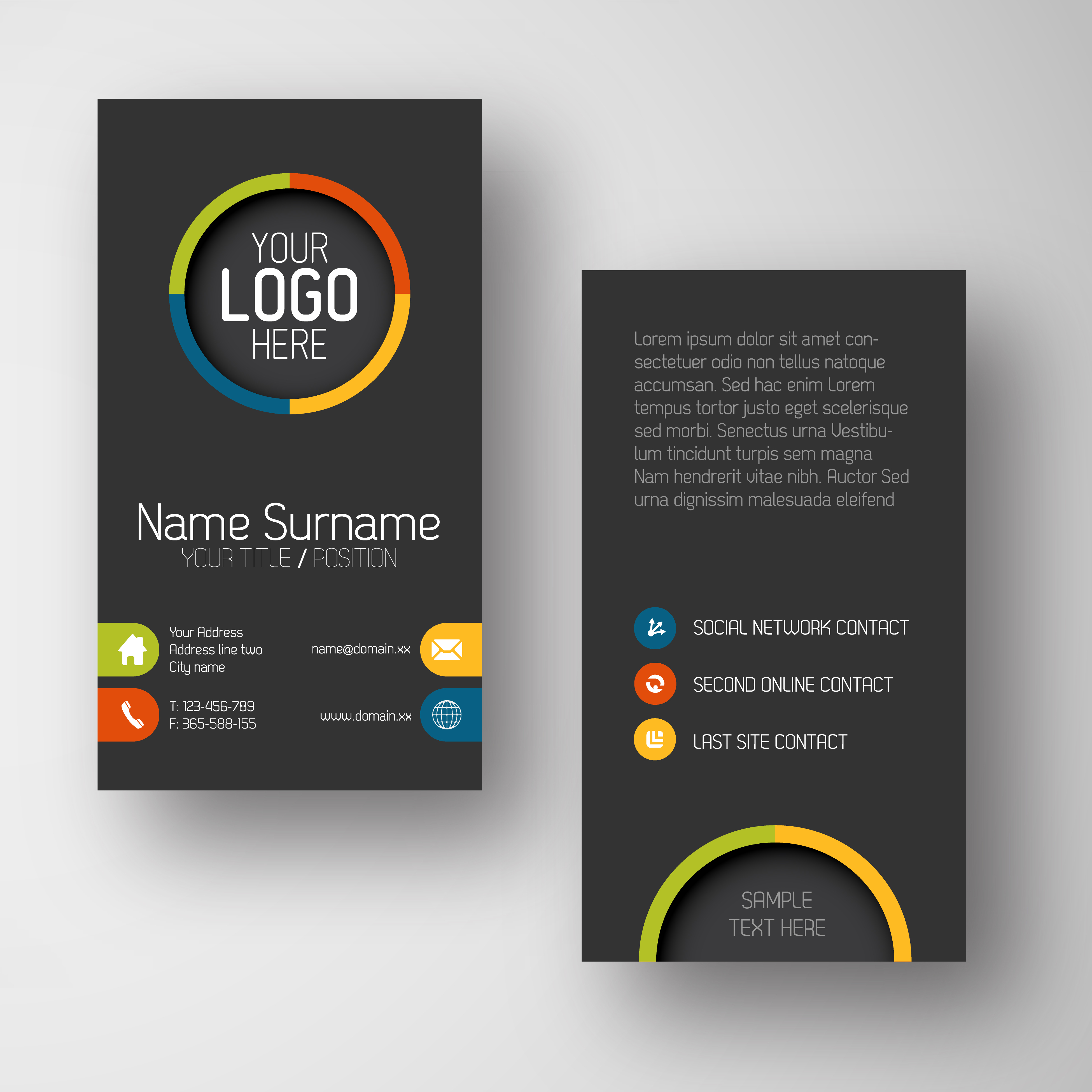 Lovely photos of small business cards business cards and for Small business card